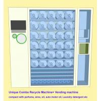 Buy cheap Commercial Combo Vending Machine Recycle Empty Bottles & Sell Perfume , Motor Oil from wholesalers