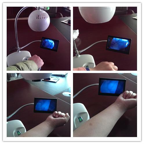 Portable Venipuncture device Vein Locator
