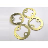 Buy cheap Heat treatment Metal Stamping Parts Brass Stamping / Pressing / Punching Sheets from wholesalers