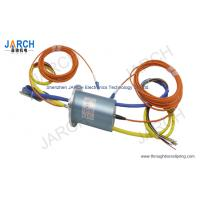 Wholesale 56MM Electro Optical Slip Ring / Fiber Optic Slip Ring With Stainless Steel Housing from china suppliers