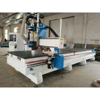 Wholesale Double worktable disc ATC CNC Router 1325 CNC carving machine with HSD spindle and reducer motor from china suppliers