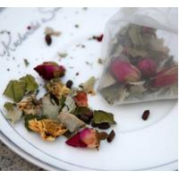 Wholesale natural lotus leaf rose flower tea triangle teabag from china suppliers