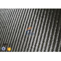 Wholesale Black Twill Weave Carbon Fiber Thermal Insulation Materials 3K 6oz 0.3mm from china suppliers