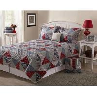 Wholesale Square Cotton Adult Quilt Patchwork Bedding Set Vintage for Home from china suppliers