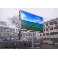 Wholesale P10 1/2 Scan Outdoor Fixed LED Display Screen Energy Saving , High Brightness from china suppliers