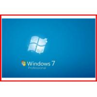 Wholesale Original Windows 7 pro Product Key Code OEM COA key 64 bit / 32 bit  SP1 english Version from china suppliers