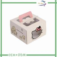 Wholesale Wedding Candy Gift Boxes with Handle , Cake custom gift box packaging with Window from china suppliers