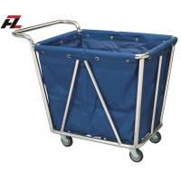 Wholesale Hotel Heavy Washable Linen Laundry Trolley with handle -Linen Trolley from china suppliers