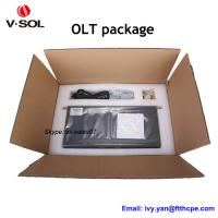 Quality 2 PON OLT EPON networking equipment with layer 2 and layer 3 route function 2 ports EPON OLT for sale