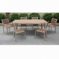 Wholesale New Design Dining Set, Easy to Assemble, Suitable for Indoor and Outdoor Use from china suppliers