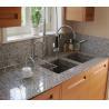 Buy cheap G640 Bianco Sardo Granite Stone Kitchen Worktops Customized Size from wholesalers