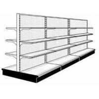 Wholesale OEM Heavy Duty 4 Tier Double Back Plate Steel Retail Display Racks with label from china suppliers