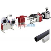 Wholesale Corrugated Single Wall PE / PP Pipe Extrusion Line 25 m / min Pipe Extrusion Machine from china suppliers