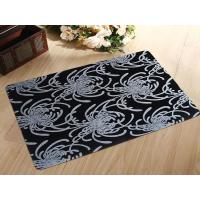Wholesale Anti Slip Rubber Flooring Mats Washable Rubber Door Mat With Flocking Cloth from china suppliers