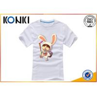 Wholesale Cotton Round Neck Custom T Shirt Silk Screen Printing For Men from china suppliers