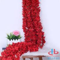 Wholesale Decoration Artificial Flower Wall For Decoration , Fake Red Roses from china suppliers