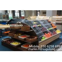 Wholesale Custom Mini Fruit Vegetable Display Rack , Fruit & Veg Display Stands from china suppliers