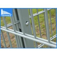 Wholesale Low Carbon Double Wire Fence Public , Pool Security Fence For Garden Easy Installation from china suppliers