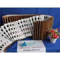 Wholesale 18kg/m² Dust Holding Dry Type Pleated Paper Filter Folded Brown Kraft Paper from china suppliers