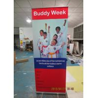 Wholesale Outdoor Trade Show Display Banners , Tabletop Retractable Banner Water Resistant Print from china suppliers