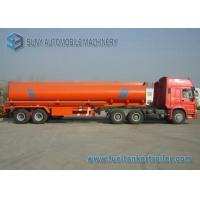 Wholesale 30000L Mild Steel / Stainless Steel Tanker Trailers Dual Axle Trailer from china suppliers