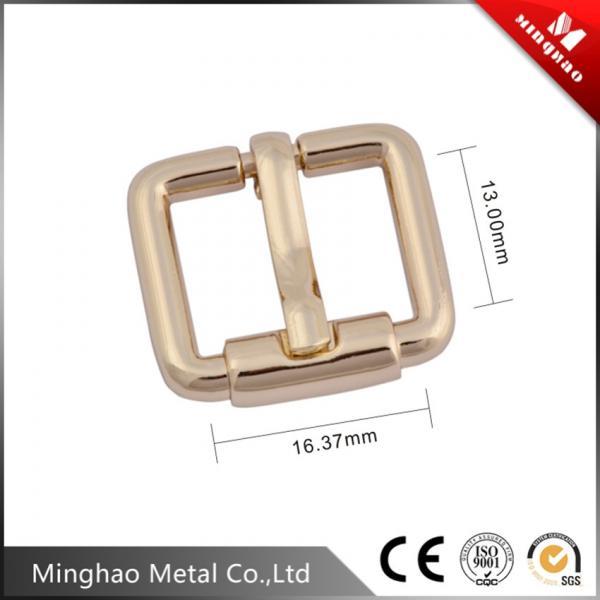 Double metal pin belt buckle,metal die casting belt buckle 16.37*13mm