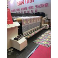 Wholesale High Speed Industrial Digital Textile Printer With Waterbased Pigment Ink from china suppliers