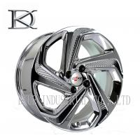 Wholesale Luxurious Machined Aluminum Wheels 5 Spoke Deep Lip Rims Electroplating Finished from china suppliers