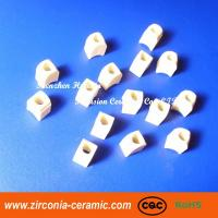 Buy cheap 1 Holes Ivory Yellow Steatite Ceramic Strip& Thermostat Ceramic Base Heat-resisting& Electrothermal Ceramics from wholesalers