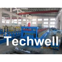 Wholesale Steel Structure Floor Deck Roll Forming Machine for Roof Deck, Steel Tile TW-FD1250 from china suppliers