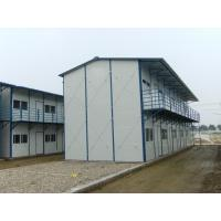 Quality High Strength Portable Prefab Steel Houses , Residential Multi Storey Steel Buildings for sale