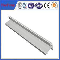 Wholesale customized extruded aluminium enclosure cleanroom t shape extrusion profile from china suppliers