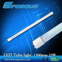 Wholesale 1500mm 22w t8 led tube light with energy saving UL TUV interior lighting/Glass tube from china suppliers