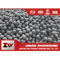 Wholesale Chile Copper Mining Forged Grinding Ball  High Hardness Grinding Media Balls from china suppliers