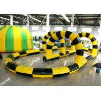 Wholesale Giant Steady PVC Tarpaulin Inflatable Zorb Ball Track For Interactive Games from china suppliers