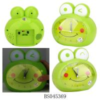 Wholesale Lovely frog alarm clock table clock for kids from china suppliers