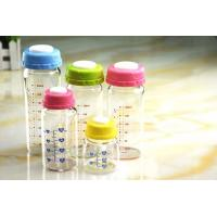 Wholesale 180ml Borosilicate Glass Feeding Bottle For Breast Milk Stock from china suppliers