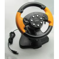 Wholesale Wired USB Vibration PC Gaming Steering Wheel With CD-ROM Driver from china suppliers