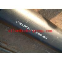 Wholesale ASTM A335 P11 13CrMo44 15CrMo Alloy Steel Pipe 6m / 12m Length from china suppliers