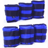 Wholesale Wholesales Fitness 1kg 2kg 3kg 4kg 5kg 6kg blue red yellow Weighted Ankle and Wrist sandbag from china suppliers