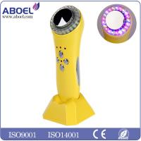 Wholesale 1MHZ Ultrasonic Facial Machine , Red Blue Green LED Light Ultrasonic Cavitation Machine from china suppliers