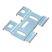 Wholesale Cable tray accessories - Q235 cold plate, hot dipping bottom connecting piece from china suppliers