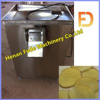 Wholesale potato waved crisp pieces slicer , potato waved slice cutting machine from china suppliers
