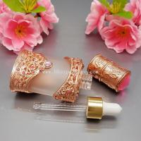 Wholesale Hot sell 10ml copper/gold glass eaaential oil bottle ,high-end,atmosphere and grade from china suppliers