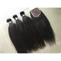 Wholesale Pure Peruvian Virgin Hair With No Mixer No Chemical , 10 Inch - 30 Inch Length from china suppliers