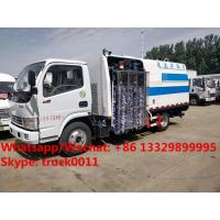 Wholesale HOT SALE! Dongfeng 4x2 LHD/RHD cleaning truck for road side fence, CLW brand street guardrail cleaning vehicle for sale from china suppliers