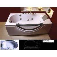 Wholesale High Oxygen Index Flame Resistant Excellent Penetrability Resin Bathtub 130 * 130 * 60 cm from china suppliers