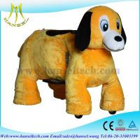 Wholesale Hansel stuffed animals / riding on toy,battery operated ride animals from china suppliers