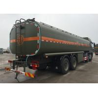 Wholesale Stable Fuel Tanker Truck SINOTRUK HOWO 30 - 40 Tons For Oil Transportation 8X4 RHD from china suppliers