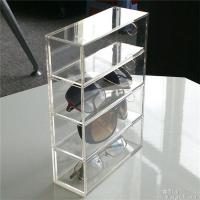 Quality Promotion Clear Plastic POS Display Box For Glasses / Jewelry for sale